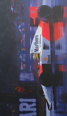 "In memory of Ayrton Senna - "" Malboro, Best Cars For Teens, Aryton Senna, F1 Racing, Drag Racing, Formula 1 Car, Indy Cars, Courses, Fast Cars"
