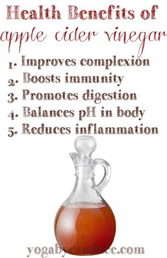 Apple cider vinegar is probably not most people's go-to beverage out there,  but given the health benefits, it's definitely worth taking a few  (diluted!) sips. Be sure that the ACV is...