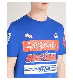 DIESEL - Tjustsd cotton-jersey T-shirt   Selfridges.com