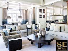 El comedor comparte espacio con el salón y queda separado de este por medio de uno de los sofás. La tienda de muebles, decoración y regalos de Madrid, que le gusta compartir buenas ideas sobre las últimas tendencias en decoración de interiores.