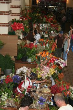 Market in Funchal, Madeira by ConnyvdHvL
