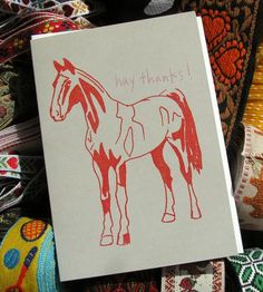 Hay Thanks Card Pack by La Familia Green on Scoutmob Shoppe