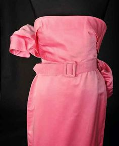 The pink dress in which Monroe performed Diamonds Are a Girl's Best Friend, designed by Travilla (William  Travilla)