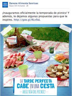 Dia del picnic - Danone #dayketing