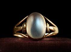 1900s Edwardian Moonstone Ring