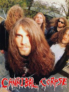 (G)old 😈 Pic from the early Heavy Metal Music, Heavy Metal Bands, Cannibal Corpse, Band Photos, Thrash Metal, Metalhead, Death Metal, Music Stuff, Black Metal