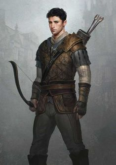 Cord Sullivan by GerryArthur Ranger archer hunter bow arrows leather . - Cord Sullivan from GerryArthur Ranger archer hunter bow arrows leather cushion … – # Arche - Fantasy Male, Fantasy Armor, Medieval Fantasy, Fantasy City, Fantasy Forest, Fantasy Places, Fantasy Dragon, Fantasy Books, Fantasy Character Design