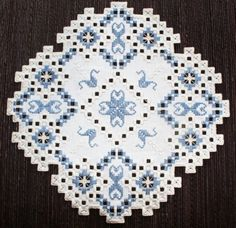 Hardanger Embroidery | Pin it Like Visit Site