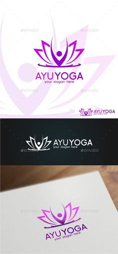Ayu Yoga Logo Template