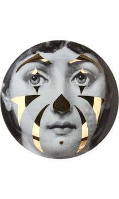 """Plate 122 from Piero Fornasetti's """"Theme and Variations"""" series"""