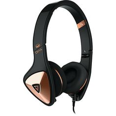 Monster - DNA On-Ear Headphones - Black/Rose Gold