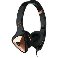 Monster - DNA On-Ear Headphones - Black/Rose Gold