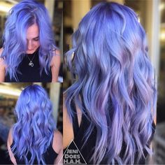 """9,229 Likes, 48 Comments - Hair Makeup Nails Beauty (@hotonbeauty) on Instagram: """"💜🙆 Purple Mane by @jeni_does_ham. Check out Jeni' page to view the video and indoor vs. outdoor…"""""""