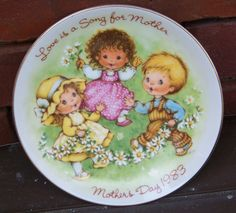 Vintage AVON Love is a Song 1983 Mother's Day by PaintedOnPlaques, $5.00