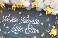 Who's in the mood for something perfectly lovely today? Well, Julia's Twinkle Twinkle Little Star birthday is just the thing to make your heart flutter. Nothingcould be sweeter than a little girl sparkling with the stars and lost in the clouds (with not a style element out of place)!Anthony Co Photographyand Teampin Photography beautifully captured…