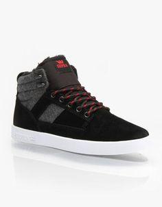 new styles 8fb87 b3a55 Supra Bandit Skate Shoes - Black Grey - White  skateshoes  offduty  covetme