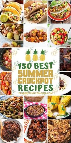 150 Best Summer Crockpot Recipes You are in the right place about Dinner Recipes for men Here we offer you the most beautiful pictures about the Dinner Recipes for one you are looking for. When you examine the 150 Best Summer Crockpot Recipes part of … Crockpot Dishes, Crock Pot Slow Cooker, Crock Pot Cooking, Slow Cooker Recipes, Crockpot Summer Meals, Quick Summer Meals, Summer Crock Pot Recipes, Crockpot Recipes For Two, Crockpot Lunch