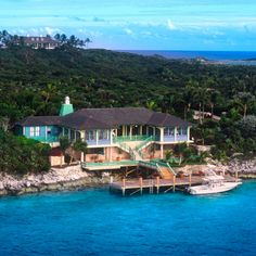 Looking for the perfect wedding venue? Check out these luxury homes you can rent: Musha Cay