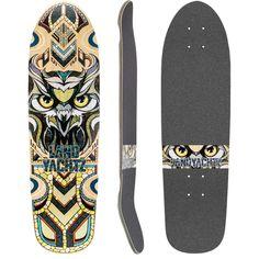 Landyachtz 2015 Dinghy Owl Longboard Skateboard Custom Complete