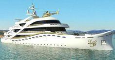 Lo Yacht solo per Donne di Lidia Bersani Lungo circa 80 metri, impreziosito da fiori, pellicce, oro e cristallo, per un party sul mare o sull�oceano. Uno yacht super lussuoso destinato unicamente alle donne e si chiama La Belle. http://caffetteriadellemore.forumcommunity.net/?t=57316496