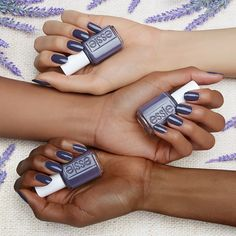 it's no sin to win. this shade of dark purple with a grayish tone loves to get your streak on. strip down and bare it all in the wildest of nude nail colors for spring. untamed, fierce and sexy, these disarming shades will totally charm the pants off one and all. get ready to expose your nails in our latest collection of essie wild nudes polish -- they look amazing on all skintones.