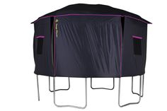 """Jump Power """"ASTM Safety Approved"""" Trampoline Tent Product Description: The Jump Power Trampoline Tent, gives your children hours of safe & fun exercise. Backed by our friendly customer service and one"""