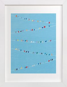 Birds of Different Feathers by Lindsay Megahed at minted.com