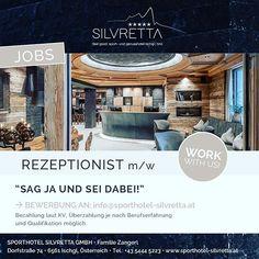 Wir suchen genau noch DICH! #lust #auf #ischgl #dann #melde #dich #bei #uns  #jobs #skiing #winter #snow #teamwork #welcome Winter, Instagram, Winter Time, Winter Fashion