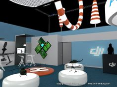 dji flight challenge  exhibition stand design and documentation central europe  RATES> http://www.i-cad.es/exhibition-stands-design/