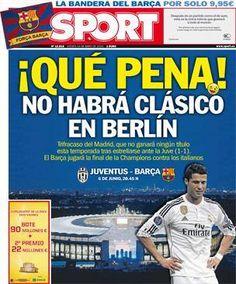 Portada Sport 14/05/2015