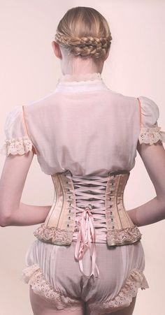 lace-me-tighter:  corsets on We Heart It.