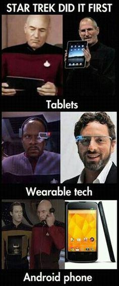 Star Trek did it first