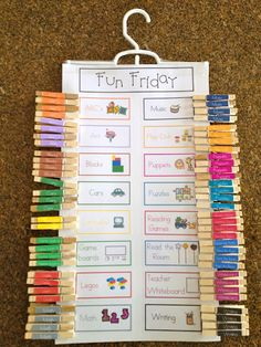 A Teeny Tiny Teacher: Friday Free Choice Management