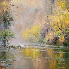 Rex PRESTON-Autumn Trees, Chee Dale