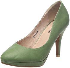 Friis & Company Chastine, Scarpe donna, Verde (Menthe), 38