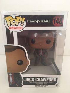 JACK CRAWFORD Hannibal Funko POP Television Vinyl Figure 148 NBC Toy Figurine