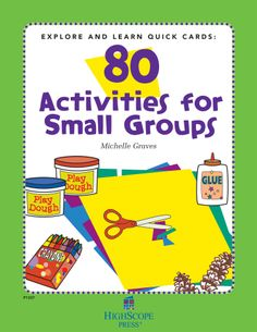 Each of these handy, durable, and easy-to-use cards contains practical suggestions and detailed descriptions to help teachers create active learning small groups.