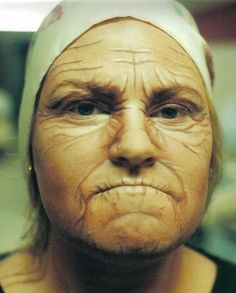 Theater Makeup: Old Age