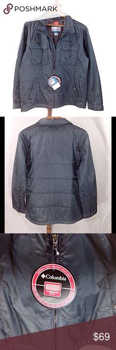 Dark Grey Men's Columbia Thermal Coil Zip-Up  Coat Dark gray Men's Thermal Coil coat by Columbia. NWT Columbia Jackets & Coats Performance Jackets