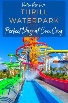 Perfect Day Thrill Waterpark: Is it Worth it in Cruise Checklist, Packing List For Cruise, Cruise Tips, Cruise Travel, Cruise Vacation, Usa Travel, Bahamas Vacation, Bahamas Cruise, Italy Vacation