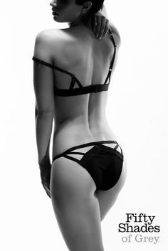 Culotte découpée - Black Label - Fifty Shades of Grey