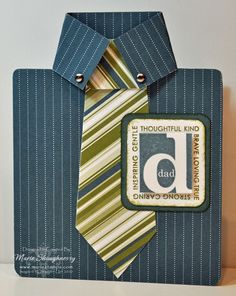 Stamping Inspiration: HAPPY FATHER'S DAY!, Jenni's Shirt Card...