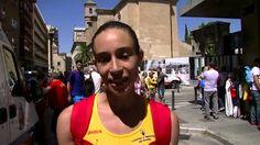 Entrevistamos a Laura García-Caro, la mejor española en la prueba de 20km marcha de la Copa de Europa #marcha #Murcia2015.