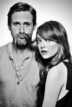 Emma Stone and Ryan Gosling- Stupid Crazy Love photoshoot 2012 - Emma Stone and Ryan Gosling Photo (34074687) - Fanpop