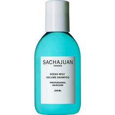 sachajuan_ocean_mist_volume_shampoo_250ml.png (875×2158) ❤ liked on Polyvore featuring beauty products