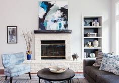 A Texas Home Goes From Drab to Colorfully Cool