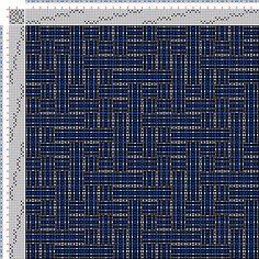 draft image: Figurierte Muster Pl. XLVIII Nr. 6 (a) Motif 4, Die färbige Gewebemusterung, Franz Donat, 8S, 8T