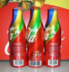 Coca Cola FIFA World Cup Aluminum Bottle Saudi Arabia 2010