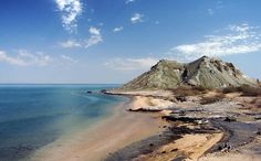 And Iran is right on the awesomely named Caspian Sea. This is Hormoz Island.   33 Incredible Beaches To Get You Stoked For SpringBreak