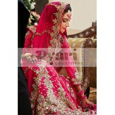 Pink Bridal Lengha